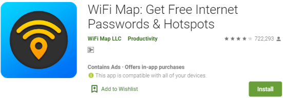 WiFi Map For Windows