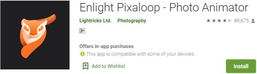 Enlight Pixaloop For PC Download
