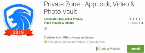 Private Zone For Windows & Mac