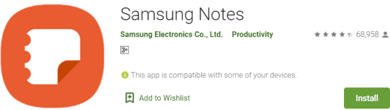 Samsung Notes For Windows & Mac