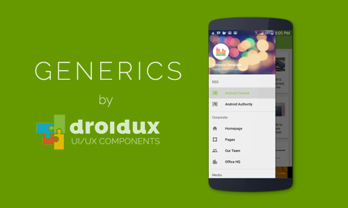 Generics 1.0 Has Arrived. Make Awesome Apps For Android.