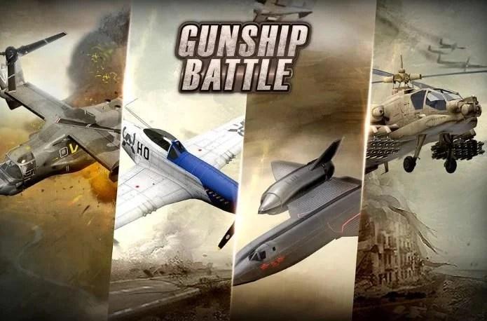 gunship battle helicopter 3d hacked version apk