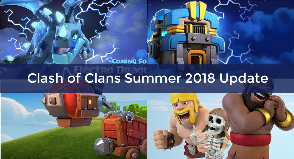 clash of clans new update 2018
