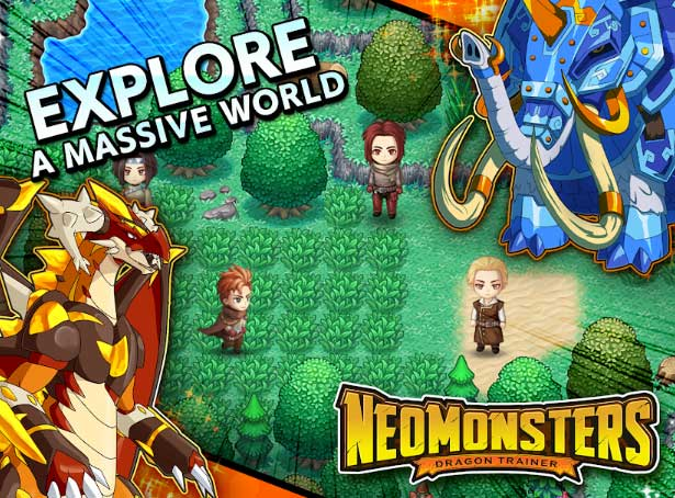 neo monsters mod apk unlimited gems download