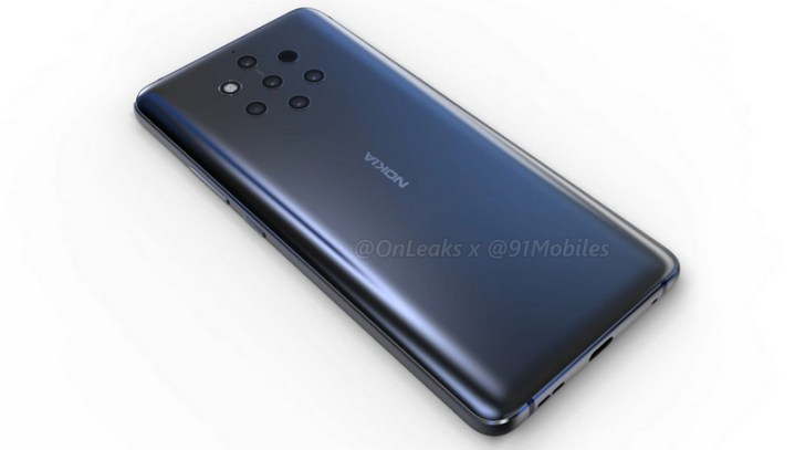 Nokia 9 renders and 360-degree video