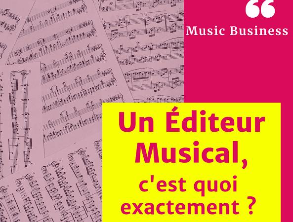 editeur musical