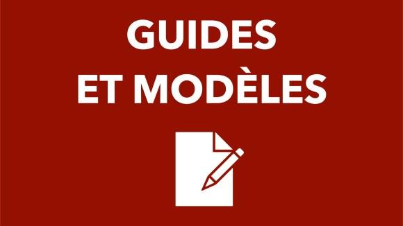 Guides et modèles