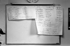 Réflexion sur la notion de violences. Quid de celles inhérentes à l'illettrisme et à l'échec scolaire ? Atelier SPR Paris © Virginie de Galzain