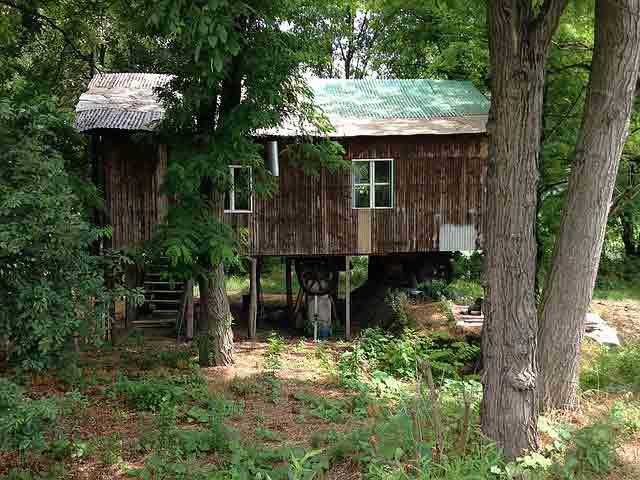 une cabane dans la forêt : peut on avoir un permis de construire ?