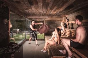 Sauna Master in the Celtic Sauna