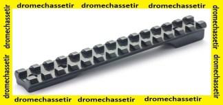 rail picatinny acier pour carabine a Verrou Voere 98