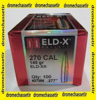 Boite de 100 ogives Hornady ELD-X