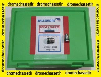 Boite de 250 Ogives Plombs Balleurope