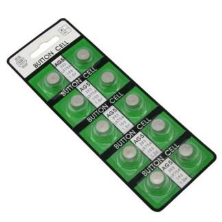 Plaquette de 10 piles ag5