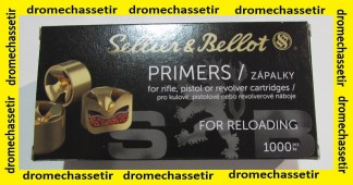 Boite de 1000 amorces Small Pistol Sellier & Bellot
