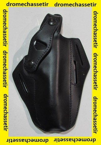 Holster droitier en Cuir pour Pistolet Beretta Mas G1