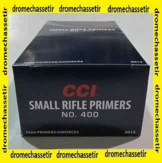 boite de 1000 amorces small Rifle de marque CCI 400 CCI