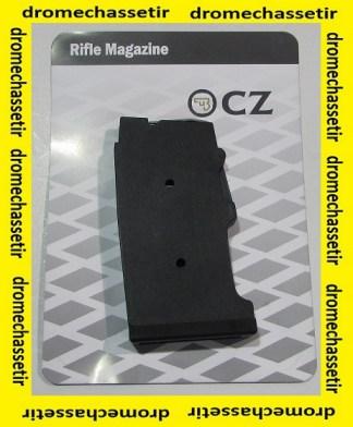 chargeur polymere pour carabine CZ455 et 512