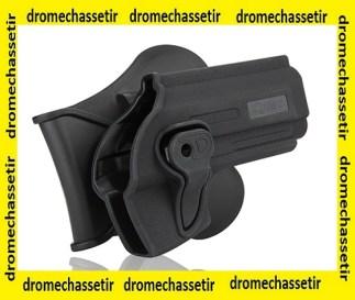 Holster avec passe ceinture pour Glock 21