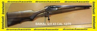 Fusil a chiens coach gun Baikal IZH43