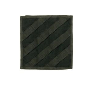 Carré de bande a 45° pour fixation de holster ( noir)