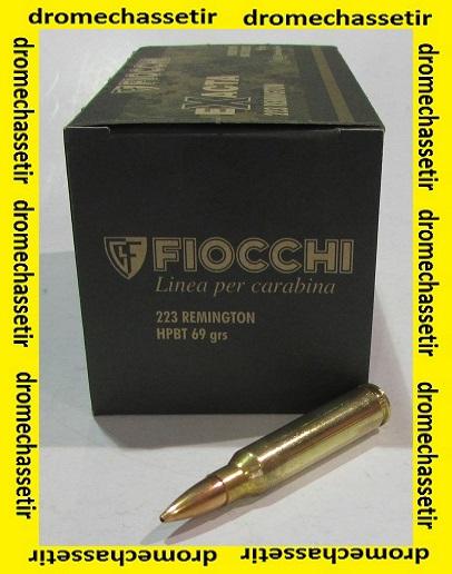 boite de 50 cartouches Fiocchi cal 223 remington