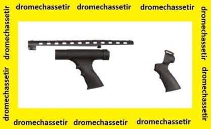 Pack ATI Poignée pistolet avec pompe a poignée et grille de ventilation pour fusil a pompes