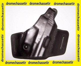 Holster de ceinture droitier en Cuir pour pistolet HK USP