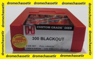 Jeux d'outils Hornady pour le rechargement en calibre 300 Blackout /AAC