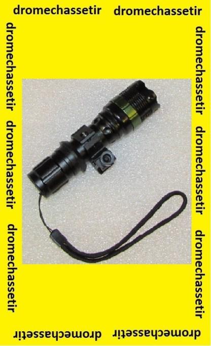 Kit lampe avec zoom 1600 Lumens
