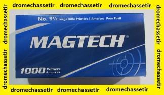boite de 1000 amorces Large Rifle de marque Magtech