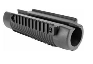 Pompe triple rails picatinny pour fusil Mossberg 500
