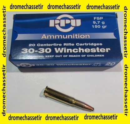 1 boite de 20 cartouches de calibre 30-30 winchester