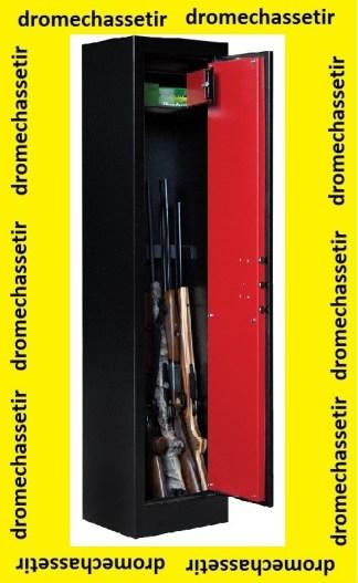 Coffre Fort Elite Pionner modele Pioneer II-6 pour 9 armes avec optiques et coffre interieur