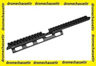 rail picatinny long avec dessus du garde main pour ruger 10/22