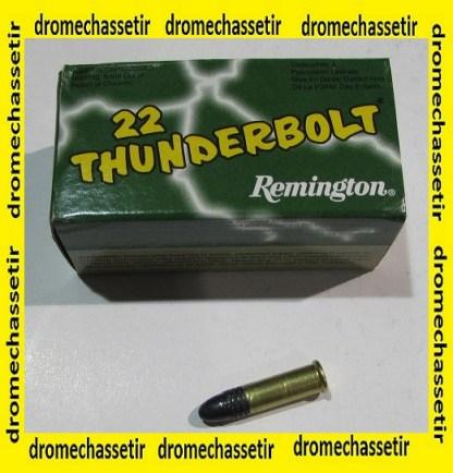 boite de 50 cartouches Remington Thunderbolt