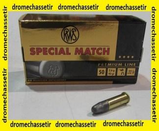 boite de 50 cartouches RWS Special Match