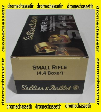 Boite de 1000 amorces Small Rifle Sellier & Bellot