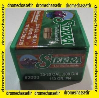boite 100 sierra cal 30-30
