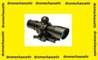 Lunette tactical nc star 4x32 reticule P4 sniper avec montage a serrage rapide