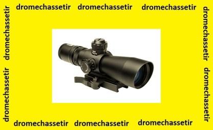 lunette compacte Nc Star 3-9X42 reticule P4 sniper