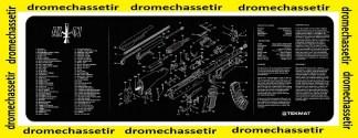 Tapis de nettoyage neoprene AK 47