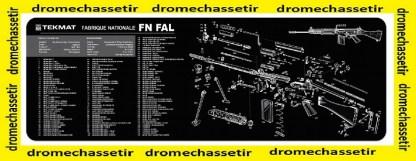 Tapis de nettoyage neoprene decor FN FAL