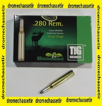 boite de 20 cartouches, cal 280 Remington , 177 grains TIG