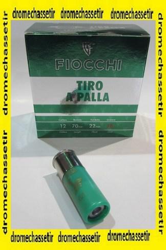 Boite de 25 cartouches FIOCCHI SLUG cal 12/70