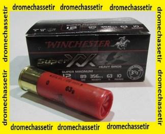 Boite 10 cartouches Winchester XX super Magnum cal 12/89