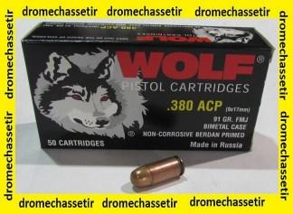 boite de 50 cartouches WOLF