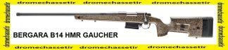 Carabine Bergara B14 HMR version GAUCHER