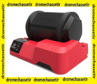 Rotary case Tumbler Hornady, a bol rotatif, a picots d'acier, 050221