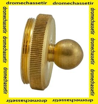 bouchon en laiton pour objectif de lunette malcolm, MS34C-O